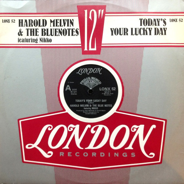 Harold Melvin & The Bluenotes Today's Your Lucky Day