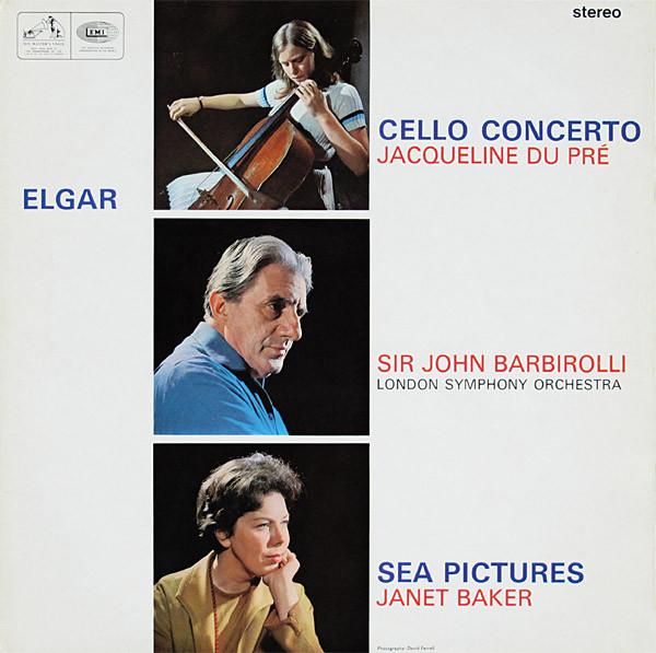 Elgar - Jacqueline Du Pre, John Barbirolli, Janet Baker Elgar Vinyl