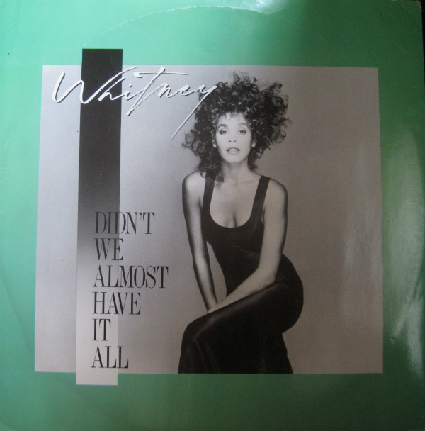 Whitney Houston Didn't We Almost Have It All  Vinyl