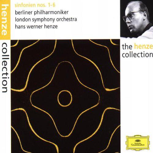 Henze - Berliner Philharmoniker, London Symphony Orchestra Sinfonien Nos 1-6