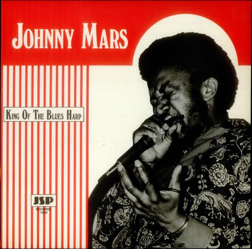 Mars, Johnny King Of The Blues Harp Vinyl