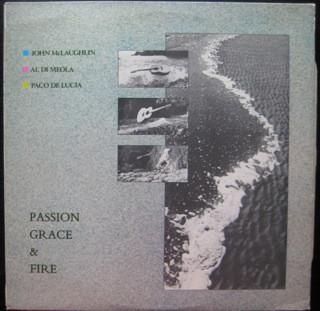 John McLaughlin - Al Di Meola - Paco De Lucia Passion, Grace & Fire Vinyl