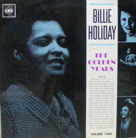 Holiday, Billie The Golden Years Volume Two Vinyl
