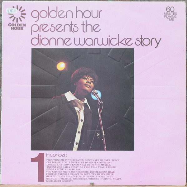 Warwicke, Dionne Golden Hour Presents The Dionne Warwicke Story Vinyl