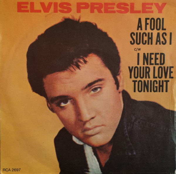 Presley, Elvis A Fool Such As I Vinyl