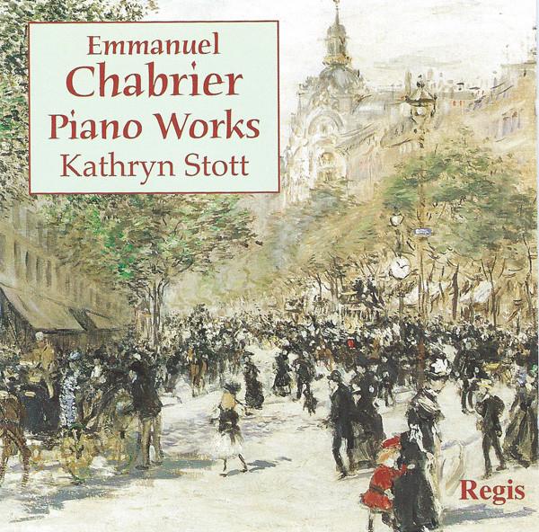 Emmanuel Chabrier, Kathryn Stott Piano Works Vinyl