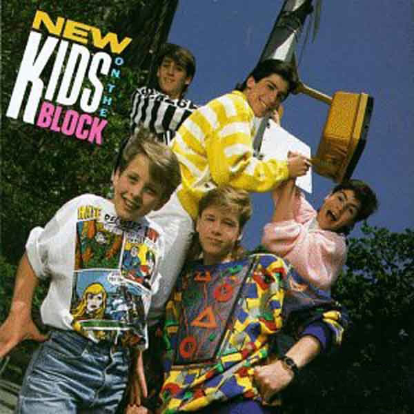 New Kids On The Block New Kids On The Block Vinyl