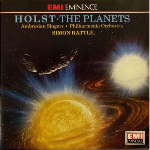 Holst - Ambrosian Singers - Philharmonia Orchestra - Simon Rattle The Planets