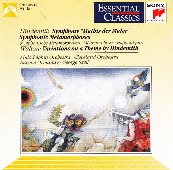 Hindemith - Walton, Philadelphia Orchestra, Eugene Ormandy, Cleveland Orchestra, George Szell Symphony