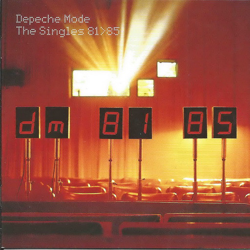 Depeche Mode The Singles 81-85