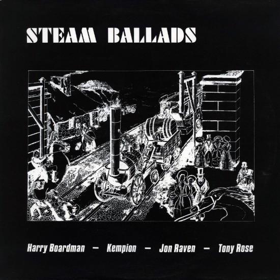 Harry Boardman - Kempion - Jon Raven - Tony Rose Steam Ballads Vinyl