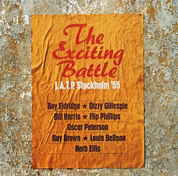 Various The Exciting Battle J.A.T.P. Stockholm '55