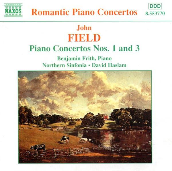 Field - Benjamin Frith, Northern Sinfonia, David Haslam Piano Concertos Nos. 1 and 3 Vinyl