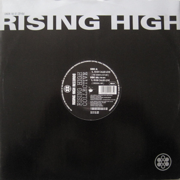 Rising High Collective Fever Called Love Vinyl