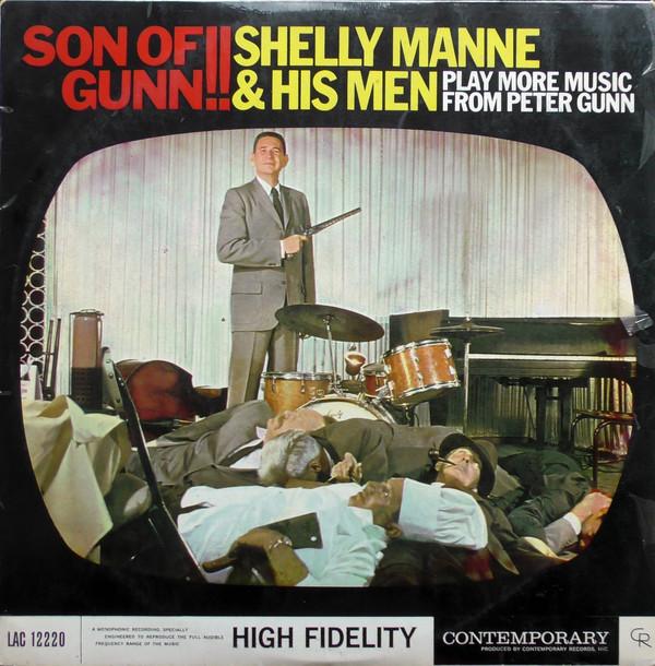 Shelly Manne & His Men Play More Music From Peter Gunn: Son Of Gunn!! Vinyl