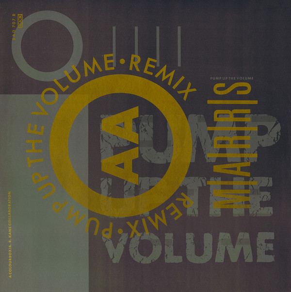 Marrs Pump Up The Volume - Remix Vinyl
