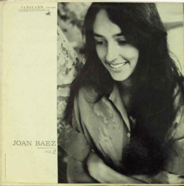 Baez, Joan Joan Baez In Concert Vol.2