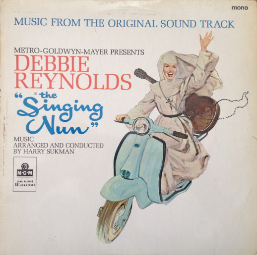 Harry Sukman The Singing Nun - SOUNDTRACK Vinyl