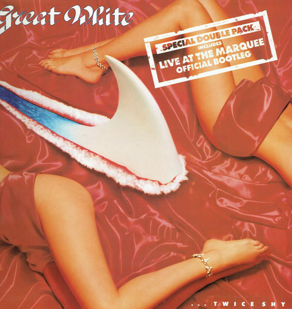 Great White ...Twice Shy + Live At The Marquee Vinyl