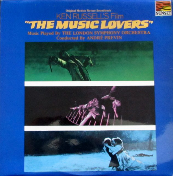 Previn, Andre The Music Lovers Vinyl