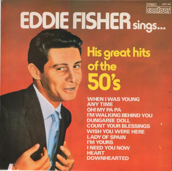 Fisher, Eddie Eddie Fisher Sings His Great Hits Of The Fifties Vinyl