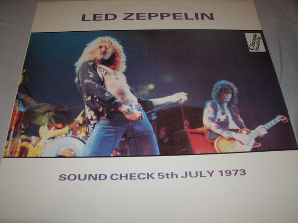 Led Zeppelin Sound Check 5th July 1973