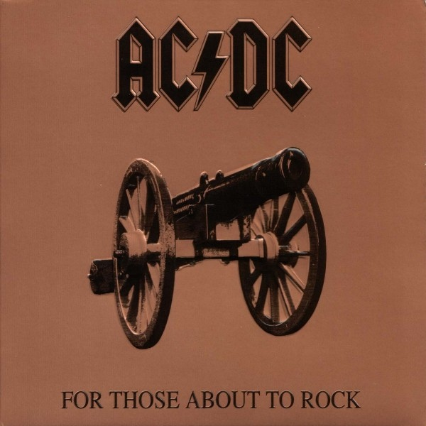 AC/DC  For Those About To Rock (We Salute You) Vinyl