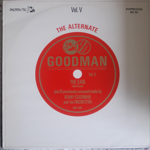 Benny Goodman Orchestra The Alternate Goodman Vol. V Vinyl