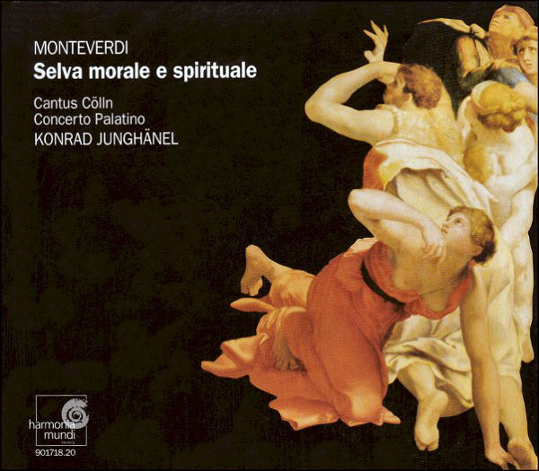 Monteverdi - Cantus Cölln • Concerto Palatino • Konrad Junghänel Selva Morale E Spirituale Vinyl