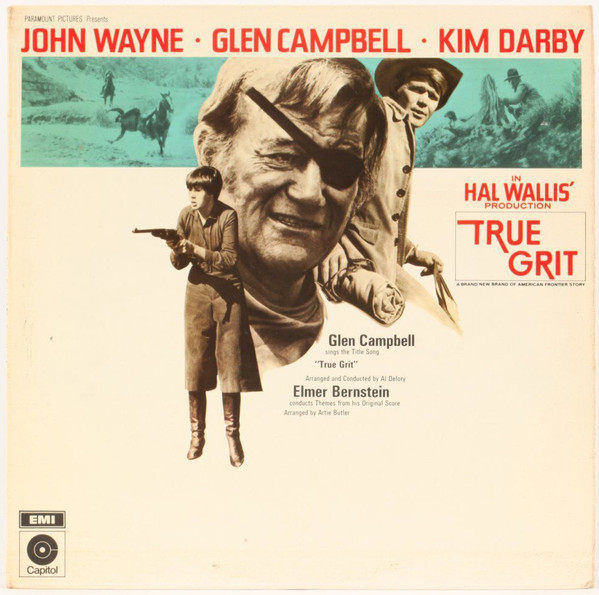 True Grit - Soundtrack Glen Campbell/John Wayne - Kim Darby