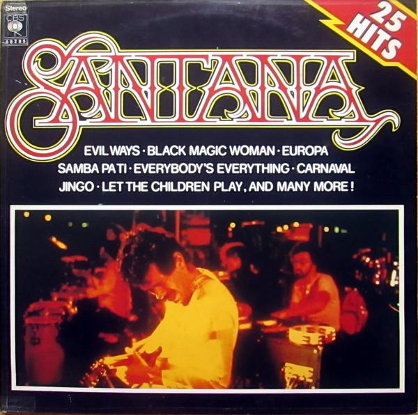 Santana 25 Hits Vinyl