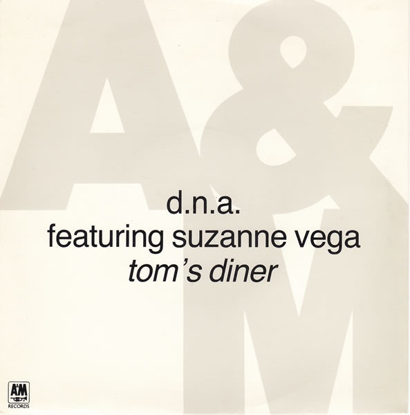 D.N.A. Featuring Vega Suzanne Tom's Diner Vinyl