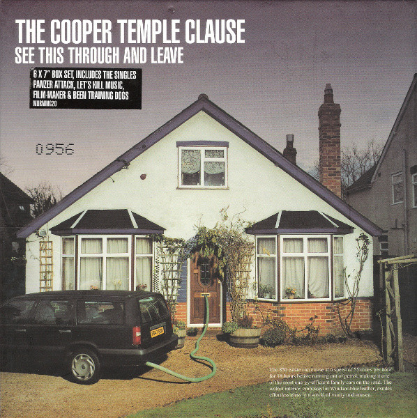 The Cooper Temple Clause See This Through And Leave  Vinyl