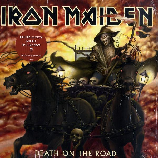 Iron Maiden Death On The Road Vinyl