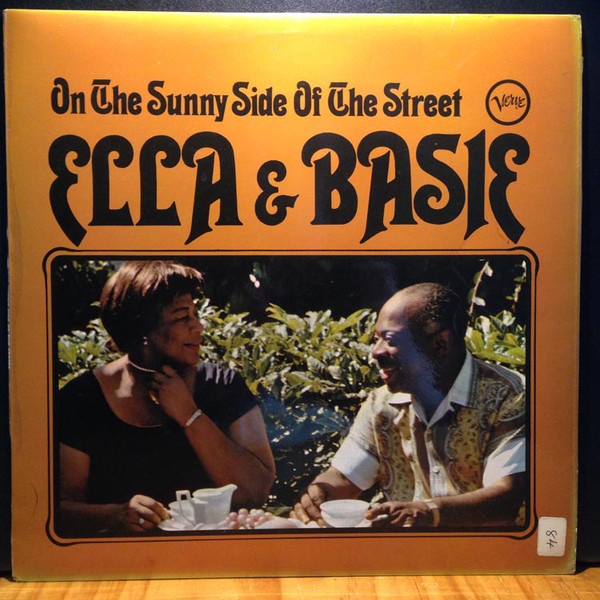 Ella Fitzgerald & Count Basie  On The Sunny Side Of The Street Vinyl