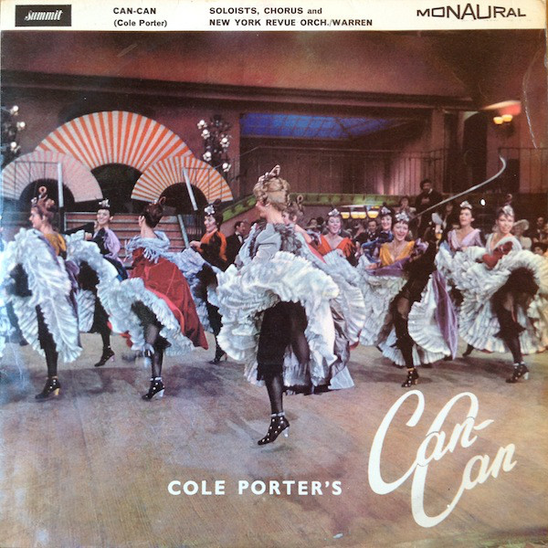 Jenny Gray, Ricky Barker With New York Revue Orchestra Conducted By Jimmy Warren Cole Porter's Can-Can Vinyl