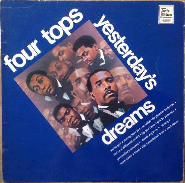 Four Tops Yesterday's Dreams Vinyl