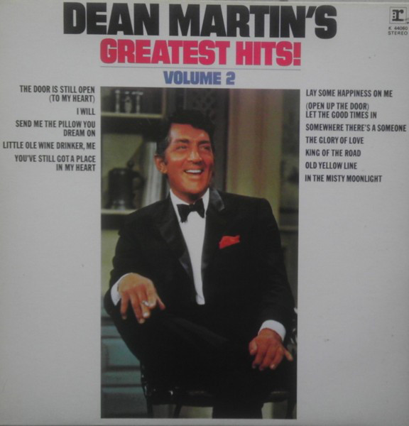 Dean Martin Dean Martins Greatest Hits Volume 2