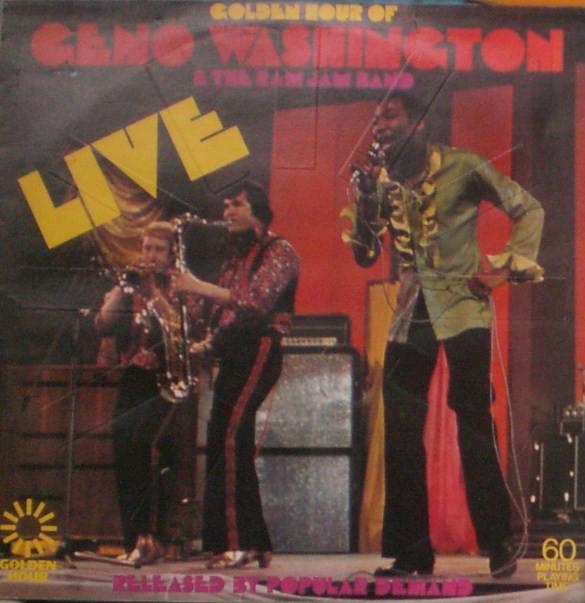 Geno Washington & The Ram Jam Band Golden Hour Of Geno Washington & The The Ram Jam Band Live Vinyl