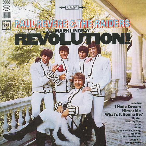 Paul Revere & The Raiders Revolution  Vinyl