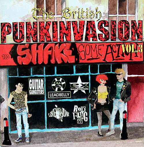 Various Artists The British PunkInvasion Vol.3