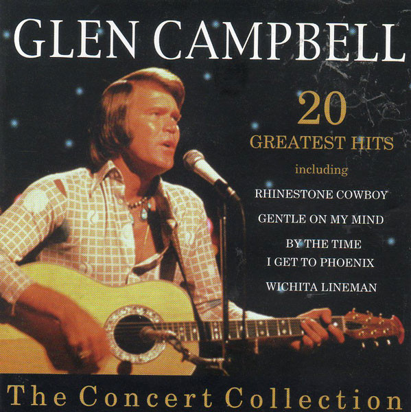 Campbell, Glen The Concert Collection Vinyl