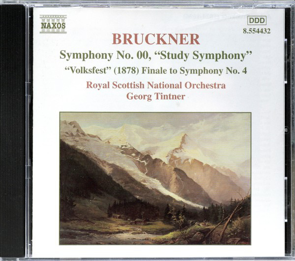 Bruckner, Royal Scottish National Orchestra, Georg Tintner Symphony No. 00,