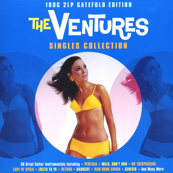 The Ventures Singles Collection Vinyl