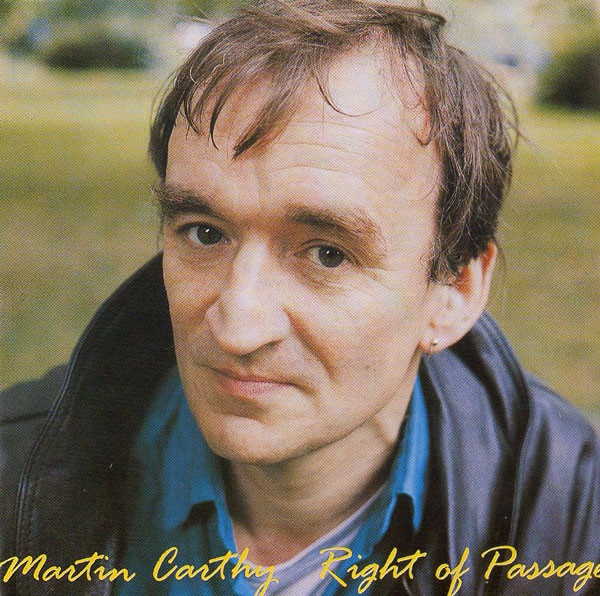 Carthy, Martin Right Of Passage CD