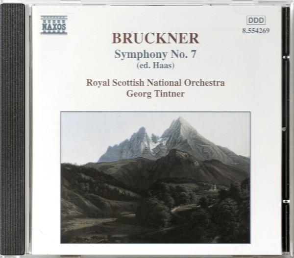 Bruckner - Royal Scottish National Orchestra, Georg Tintner Symphony No. 7 (Ed. Haas)