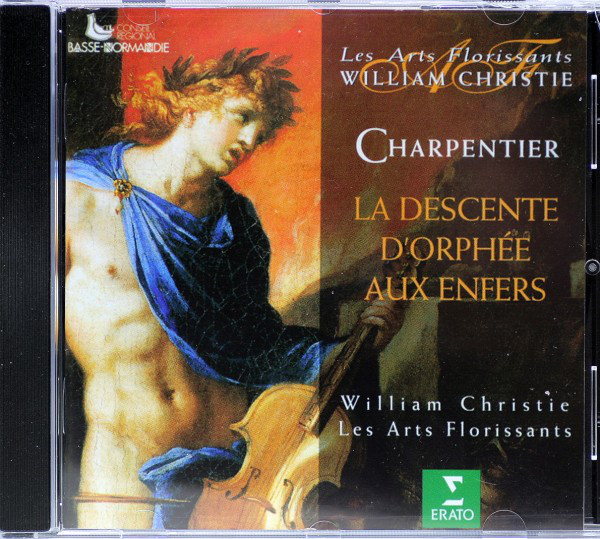 Charpentier - Les Arts Florissants, William Christie La Descente D'Orphée Aux Enfers Vinyl