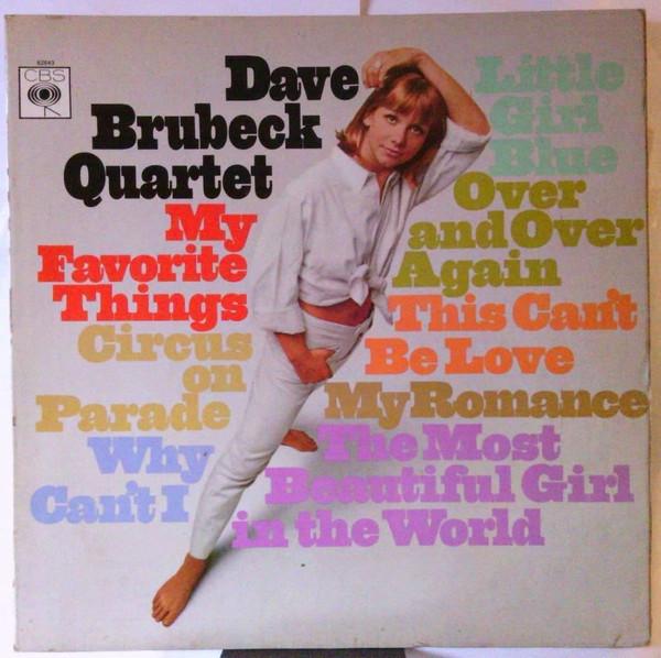 Dave Brubeck Quartet My Favorite Things