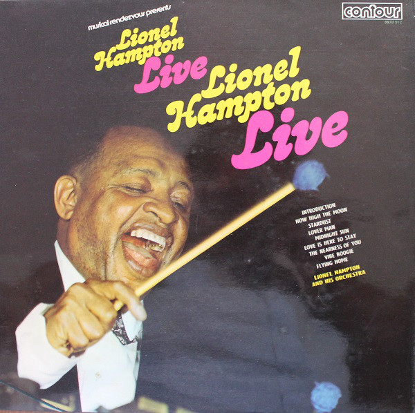 Lionel Hampton And His Orchestra Lionel Hampton Live Vinyl