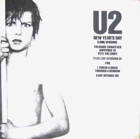 U2 New Year's Day (Long Version) Vinyl